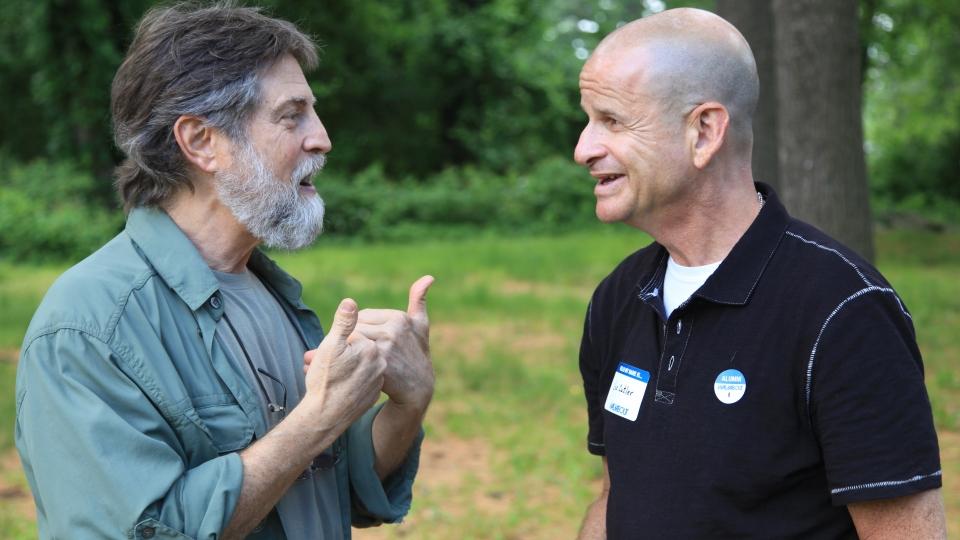 Eugene Lebwohl and Lee Cutler of Walkabout / Alumni / WAA