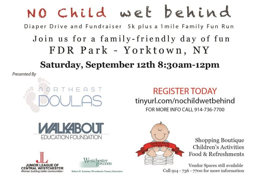 Walkabout Runabout + No Child Wet Behind - combined event